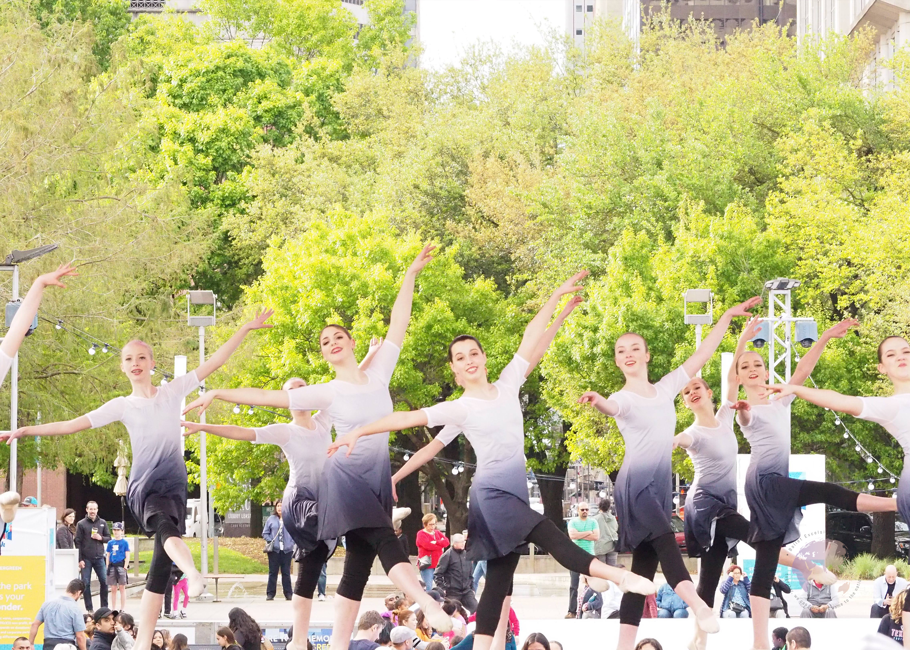Ballet Excelsior Trainees at Project Dance Houston