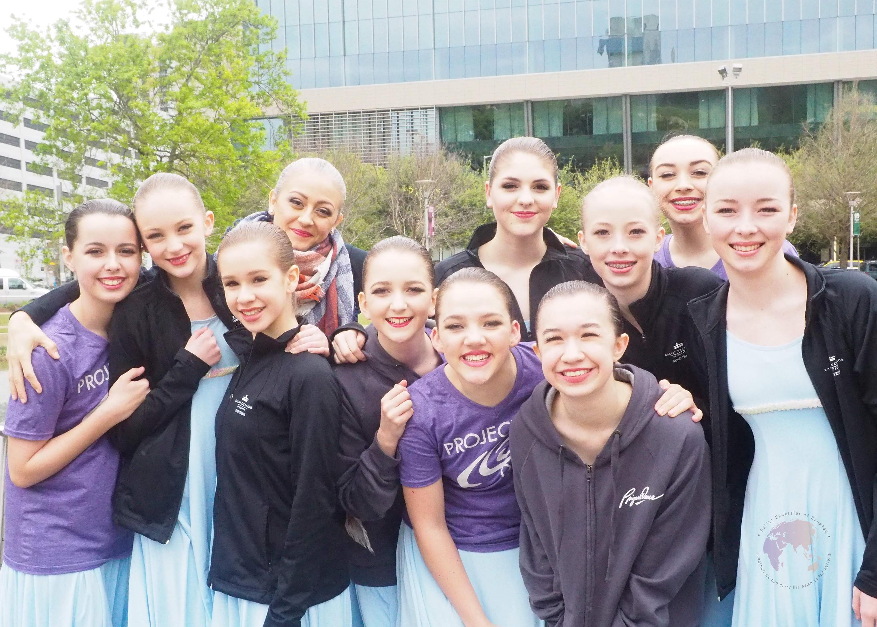 Ballet Excelsior Trainees Dancers at Project Dance Houston